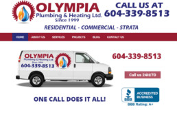 Olympia plumbing & heating ltd
